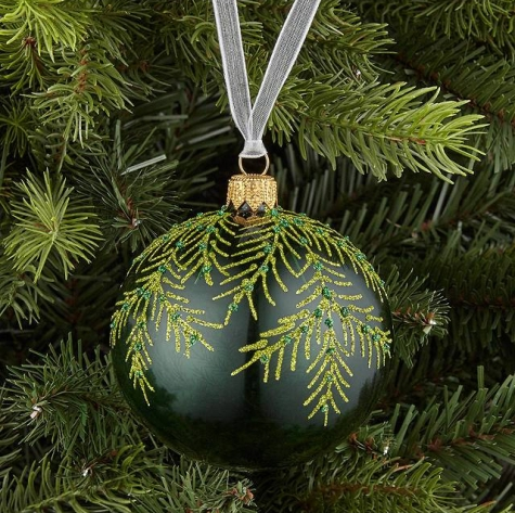 FERN BAUBLE - JOHN LEWIS