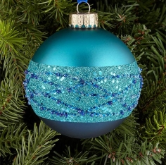 GLITTER BAND BAUBLE
