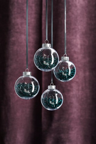 SHAKER FILLED BAUBLES - NEXT