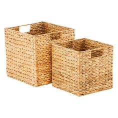 📷 https://www.containerstore.com/s/storage/decorative-bins-baskets/water-hyacinth-storage-cubes-with-handles/12d?productId=11001916