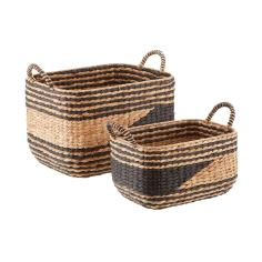 📷 https://www.containerstore.com/s/storage/decorative-bins-baskets/black-natural-water-hyacinth-storage-bins/12d?productId=11007933