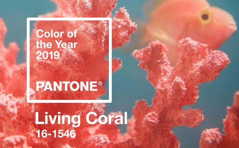 PANTONE COLOUR OF THE YEAR 2019: LIVINGCORAL